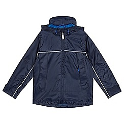 Debenhams - Boys' navy mac