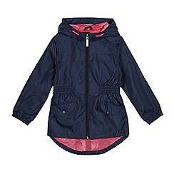 Debenhams - Girls' navy mac
