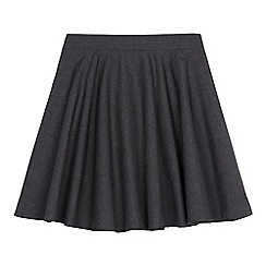 Debenhams - Girls' grey skater school skirt