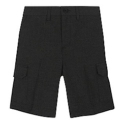 Debenhams - Boys' grey cargo shorts