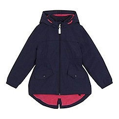 bluezoo - 'Girls' navy coat
