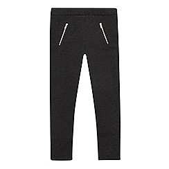 Debenhams - Girls' grey ponte trousers