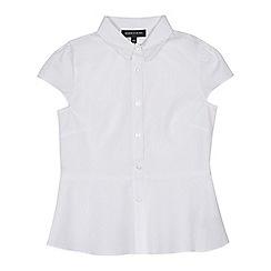 Debenhams - Girls' white blouse