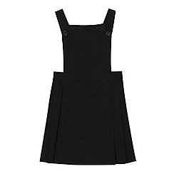 Debenhams - 'Girls' black pinafore