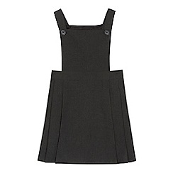 Debenhams - 'Girls' grey pinafore