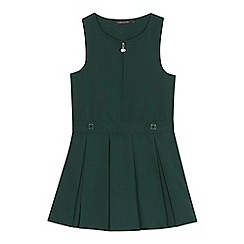 Debenhams - 'Girls' green school pinafore