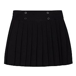 Debenhams - Senior girls'  black pleated school skirt