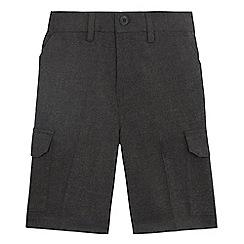 Debenhams - Boys' grey cargo shorts