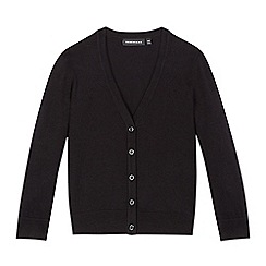 Debenhams - Black V neck cardigan