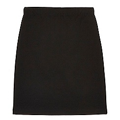Debenhams - Girls' black ponte skirt