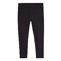 Debenhams - Girls' black leggings