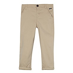 Baker by Ted Baker - Boys' light tan chinos