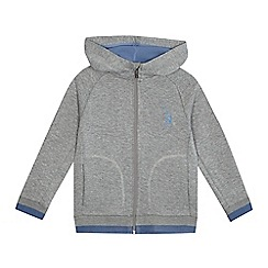 Baker by Ted Baker - Boys' grey zip through hoodie