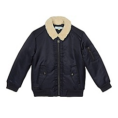 Baker by Ted Baker - Boys' navy bomber jacket