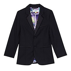 Baker by Ted Baker - Boys' navy tuxedo jacket