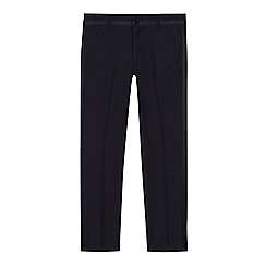 Baker by Ted Baker - Boys' navy tuxedo trousers