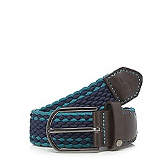 Baker by Ted Baker - Boys' turquoise woven belt