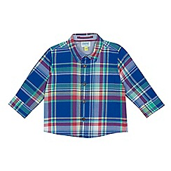 Baker by Ted Baker - Baby boys' multi-coloured checked shirt