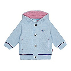Baker by Ted Baker - Baby boys' light blue quilted hooded jacket