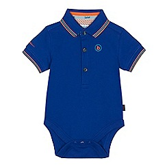 Baker by Ted Baker - Baby boys' bright blue pique bodysuit