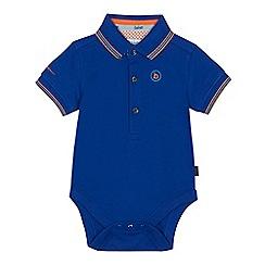 Baker by Ted Baker - Baby boys' bright blue pique bodysuit