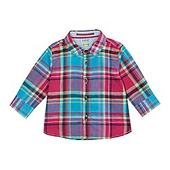 Baker by Ted Baker - Baby boys' multicoloured checked shirt