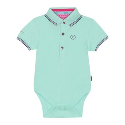 bd970c6ff27778 Baker by Ted Baker - Baby Boys  Pale Green Polo Bodysuit