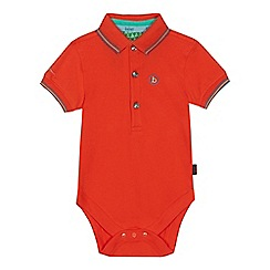 Baker by Ted Baker - 'Baby boys' orange bodysuit