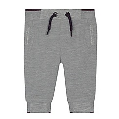 Baker by Ted Baker - Baby boys' grey ribbed jogging bottoms
