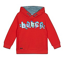 Baker by Ted Baker - Boys' red logo print hoodie