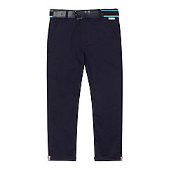 Baker by Ted Baker - 'Boys' navy diamond print trousers