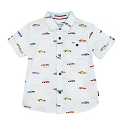 Baker by Ted Baker - Boys' white car print shirt