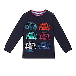Baker by Ted Baker - Boys' navy embroidered car top