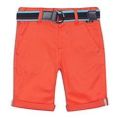 Baker by Ted Baker - 'Boys' red chino shorts