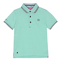 Baker by Ted Baker - 'Boys' pale green polo shirt