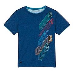 Baker by Ted Baker - 'Boys' navy logo print t-shirt