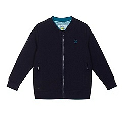 Baker by Ted Baker - Boys' Navy textured sweater