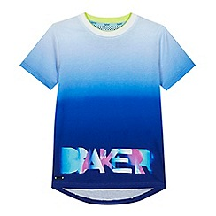 Baker by Ted Baker - 'Boys' white neon print t-shirt