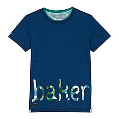 Baker by Ted Baker - Boys' navy 'Baker' print t-shirt