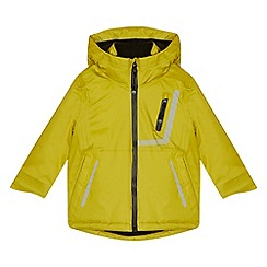 Baker by Ted Baker - Boys' lime waterproof jacket