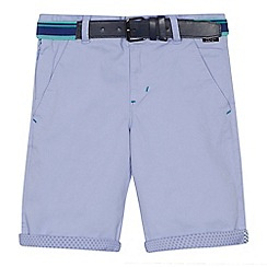Baker by Ted Baker - 'Boys' lilac chino shorts