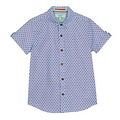 Baker by Ted Baker - Boys' blue printed shirt