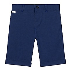 Baker by Ted Baker - Boys' blue textured shorts