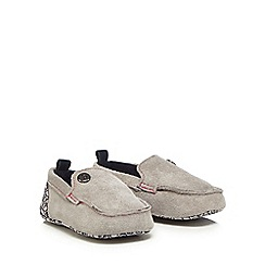 Baker by Ted Baker - Baby boys' grey suede booties