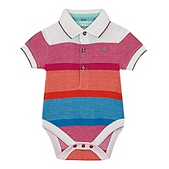 Baker by Ted Baker - Baby boys' multi-coloured striped bodysuit