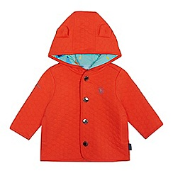 Baker by Ted Baker - Baby boys' orange quilted sweater