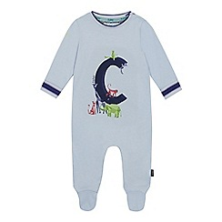 Baker by Ted Baker - Baby Boys' Light Blue 'C' Sleepsuit