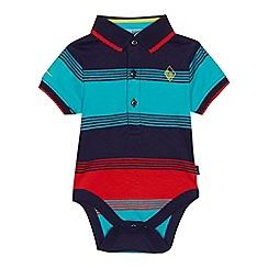 Baker by Ted Baker - Baby boys' multicoloured striped bodysuit