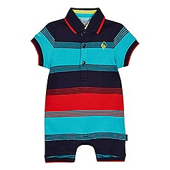 09cdb22110fe3 Baker by Ted Baker - Baby boys  multicoloured striped romper suit
