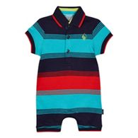 eb7784bf1152 Baker by Ted Baker  Baby boys  multi-coloured textured striped short ...